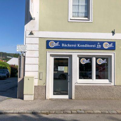 Bäckerei Winkler in der Gleinker Hauptstraße